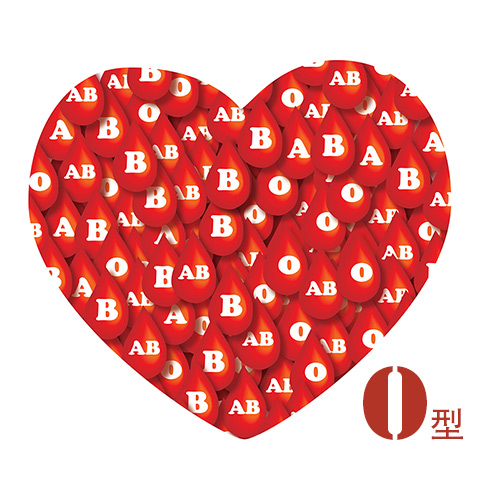 Blood-Type-Heart-O