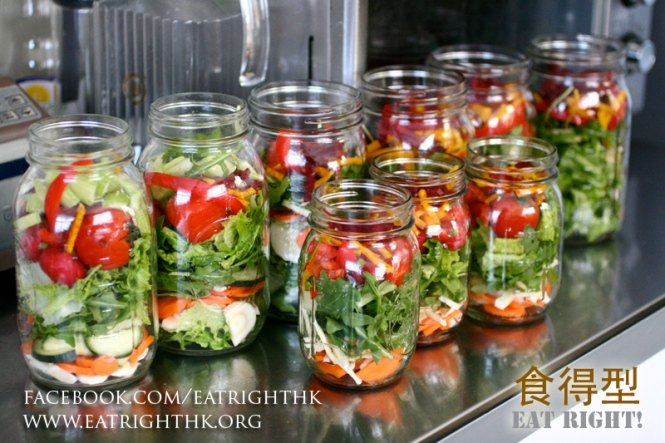 Salad-in-Jars