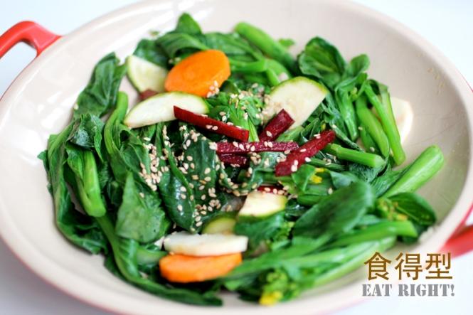 Steamed-Choy-Sum-Salad
